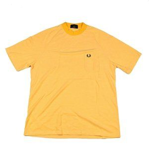 Fred Perry REISSUES Athletic Embroidered Tee Sz L
